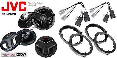 2 Pair JVC CS-V628 6.5 Speakers + Front / Rear Speaker