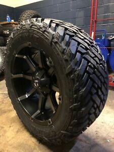 2019 Ram 2500 Wheel Bolt Pattern : wheel, pattern, 20x10, Black, Coupler, Wheels, Tires, 6x5.5, Dodge
