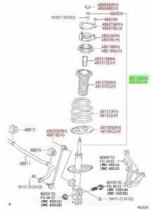 Toyota Rav4 06-08 3.5L V6 Front & Rear Shocks/Struts Set