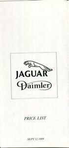 Jaguar XJ40 XJ6 2.9 4.0 Sovereign & Double Six V12 S3 XJ-S