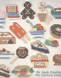 Image is loading more junk food fridge magnets cross stitch chart also pattern rh ebay