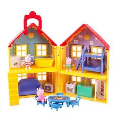 Pig Kitchen Fruit Themed Decor Collection Peppa George Suzy Deluxe Toy Doll House Travel Playset Image Is Loading