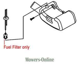 Mitox Fuel Filter E15 Fuel Hedgetrimmer Brushcutter Multi