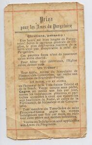Priere Pour Les Ames Du Purgatoire : priere, purgatoire, Ancienne, Prière, âmes, Purgatoire
