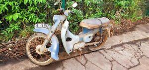 Barn Find 1964 Honda C100 (C102/SuperCub