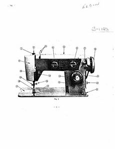 White WS1145 Sewing Machine/Embroidery/Serger Owners