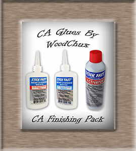 Pen Finishing With Ca Glue