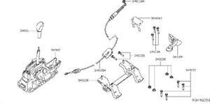 Nissan/INFINITI 34901-3TA4A Device Transmission Control