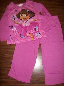 Toddler Girls DORA 2-Pc Pajamas - Size 2T - NEW NWT MSRP $28 - PINK   eBay