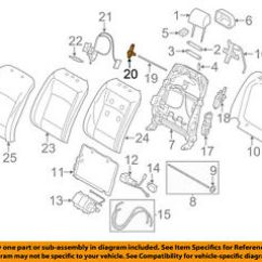 E36 Starter Wiring Diagram Two Way Light Switch Bmw X5 Seats All Data Oem 14 16 Seat Track Actuator 52107314213 Ebay Chevy Suburban