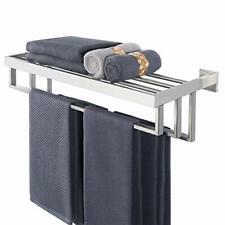 paris hotel towel rack shelf with hooks