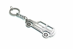 Stainless Steel Keychain for Suzuki Jimny new Key Ring