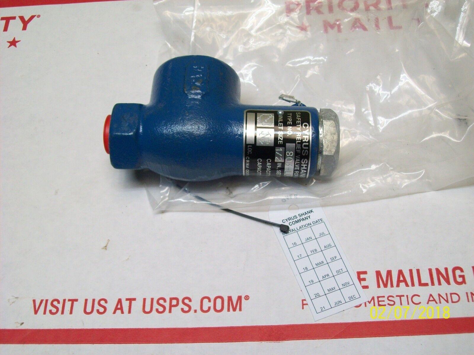 hight resolution of cyrus shank company relief valve 803 lq for sale online ebay cyrus shank 3 way valve diagram