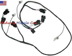 rear body tail light wiring harness 63 64 Pontiac Grand
