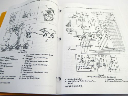small resolution of ford 550 555 tractor loader backhoe tlb factory service manual repair shop book ebay