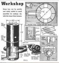 Make Build Mini Cupola Blast Furnace Melt Metals Iron ...