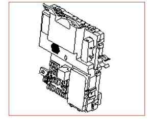 KIA SEDONA 2006-2013 OEM INTERIOR PANEL JUNCTION FUSE BOX