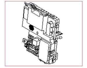 KIA SEDONA 2006-2013 OEM INTERIOR PANEL JUNCTION FUSE BOX