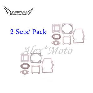 Engine Head Gasket Kit For 2 Stroke 47 49cc Quad Minimoto