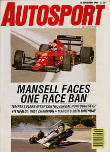 Image result for 1989 spanish grand prix mansell