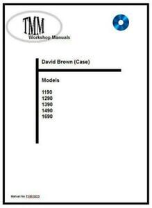 David BrownTMM 1190 1290 1390 1490 1690 Workshop Manual