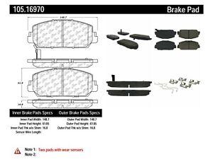 StopTech Disc Brake Pad for 13-18 Acura RDX / RLX & Honda