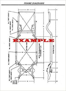 2009 LINCOLN TOWN CAR FRAME DIMENSIONS DIAGRAMS [CD-ROM