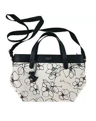 Radley London Linear Floral Multi Compartment Crossbody Handbag Purse | eBay