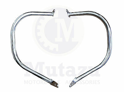 Mutazu 2 pc BIG BAR ENGINE GUARD Crash Bar Highwway for