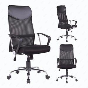 executive mesh office chair dubai high back swivel ergonomic computer desk image is loading