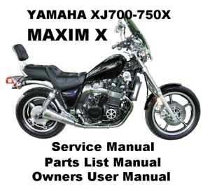 YAMAHA XJ750X MAXIM XJ 700 Owners Workshop Service Repair