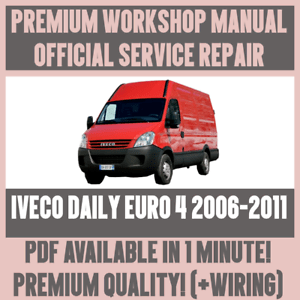 iveco daily 2007 wiring diagram 91 crx stereo workshop manual service repair guide for euro 2006 image is loading amp