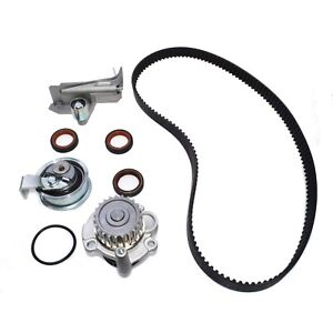 New Timing Belt Kit water pump Tensioner Seal For Audi A4