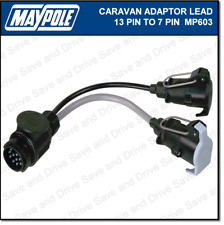 wiring diagram for caravan 13 pin plug 1972 ford f100 alternator to 12n and 12s towing electrics adapter trailer item 2 maypole 7 adaptor lead mp603