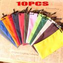 10*Pretty Sunglasses Bag Waterproof Soft Cloth Glasses Pouch Phone Cases*Nylon