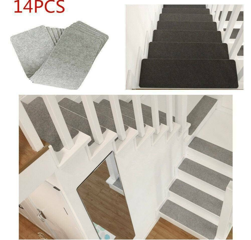 1Pcs Stair Treads Anti Slip Night Light Luminous Mats Rugs Pads | Sticky Carpet For Stairs | Self Adhesive | Mat | Sticky Bottom | Flooring | Anti Slip