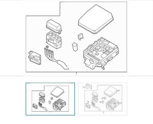 OEM Mitsubishi 2016 Outlander Wire Harness 2.4L- L4 Fuse