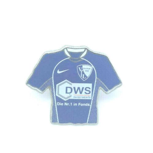 fussball fanshop vfl bochum trikot pin logo anstecker fussball bundesliga 666 oliveoil kanakis