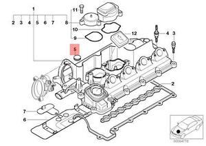 Genuine BMW E38 E39 E46 E53 E60 E61 Sealing Blind Plug D