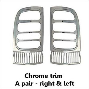 2PCS ABS 3M Chrome Taillight Trim [Fits: Dodge Ram 1500