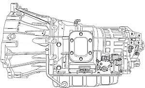 2004-up Mitsubishi Fuso AS68RC transmission diagnostics