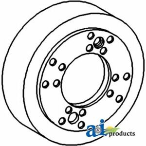 70237418 Brake Drum Assy Fits Allis-Chalmers Tractor: D17