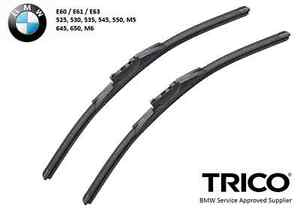 Trico Wiper Blade Pair Set for BMW E60 E61 E63 5-Series