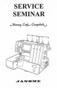 Janome Memory Craft Compulock 888 Serger Overlock Adjuster