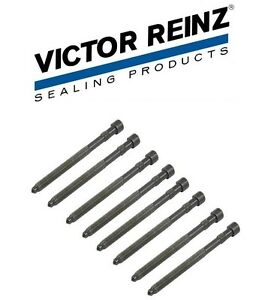8-Piece Head Bolt Set For Audi A4 A6 3.0 Ltr 2002 to 2006