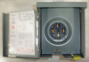 NEW RV Power outlet 50 Amp outdoor type Rainproof 120240