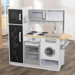 Kidkraft Toy Kitchen Lowes Sinks Stainless Pepperpot Play Kids Wooden Ebay Image Is Loading