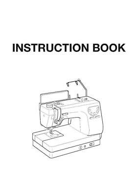 Necchi QS60 Sewing Machine Manual Instructions User Guide