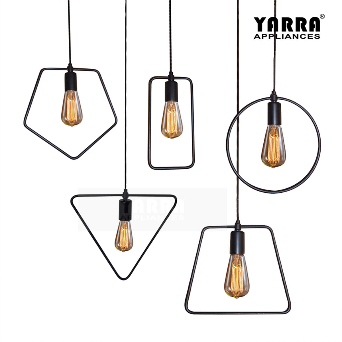 1lt Glass Retro Pendant Light 1 5m Cord Ceiling Lamp
