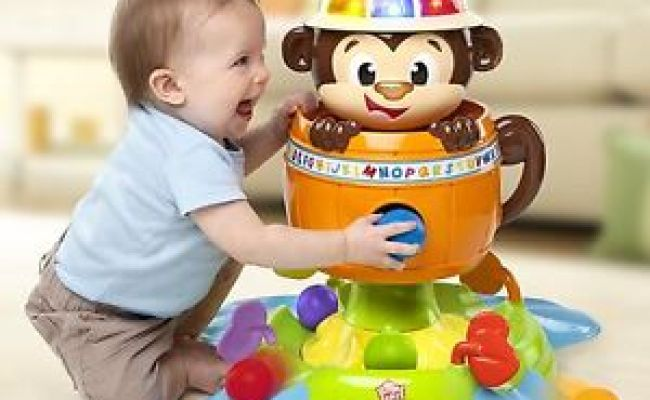 Silly Monkey Ball Stand Center Spin Song Shoot Toys Baby
